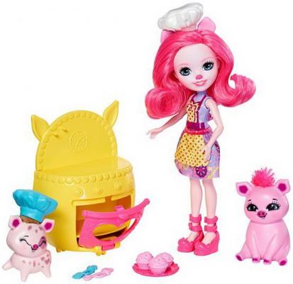 Купить Игровой набор Enchantimals Веселая пекарня, MATTEL, 15 см, пластик, Классические куклы и пупсы