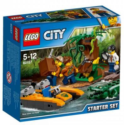 Конструктор LEGO 60157 Набор «Джунгли» для начинающих 88 элементов набор для создания фрески фантазер superфреска джунгли
