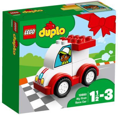 Конструктор LEGO Мой первый гоночный автомобиль 6 элементов конструктор bauer автомобиль 282
