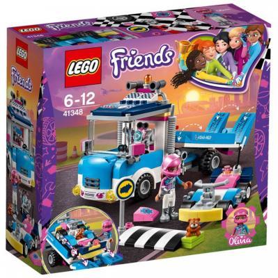 Конструктор LEGO Грузовик техобслуживания 247 элементов lego конструктор lego friends 41348 грузовик техобслуживания