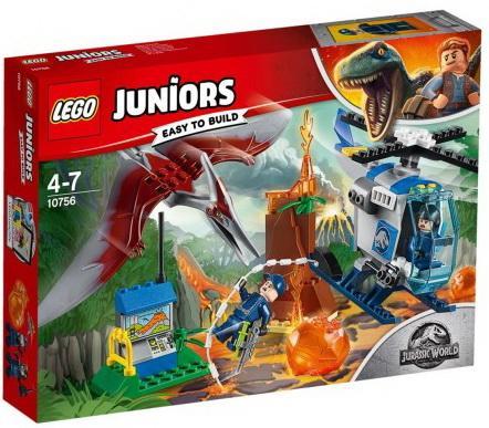 Конструктор LEGO Побег птеранодона 84 элемента lego juniors конструктор побег птеранодона