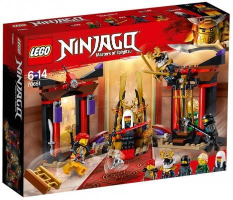 Конструктор LEGO Решающий бой в тронном зале 221 элемент lego lego конструктор lego ninjago 70651 решающий бой в тронном зале