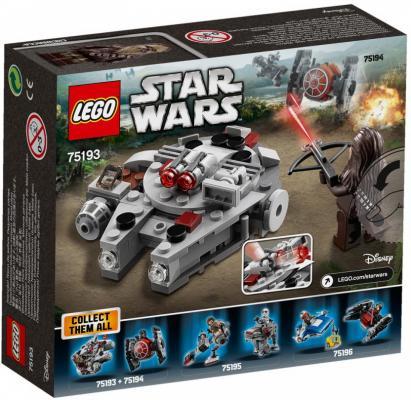 все цены на Конструктор LEGO Микрофайтер Сокол Тысячелетия 92 элемента онлайн