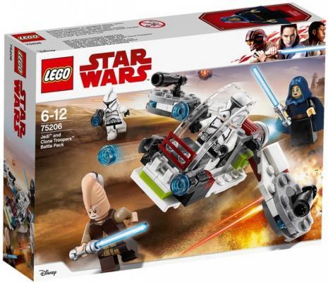 Купить Конструктор LEGO Боевой набор джедаев и клонов-пехотинцев 102 элемента, Конструкторы