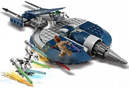 Конструктор LEGO Боевой спидер генерала Гривуса 157 элементов стоимость