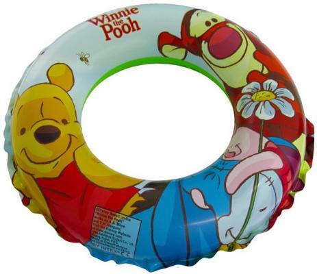Купить Круг Винни и друзья 51 см, 3-6 лет, Intex, разноцветный, винил, Детские круги для плавания