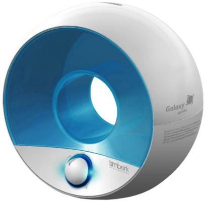 где купить Увлажнитель воздуха Timberk THU UL 09 (W) белый голубой дешево