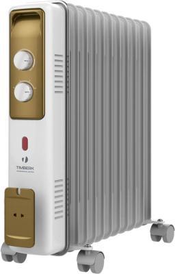 Масляный радиатор Timberk TOR 21.2211 BCX 2500 Вт белый