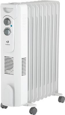 Масляный радиатор Timberk TOR 31.2409 QT 2400 Вт вентилятор термостат ручка для переноски колеса для перемещения белый термовентилятор scarlett sc fh53016 2000 вт ручка для переноски вентилятор термостат белый