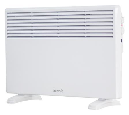 Конвектор Scoole SC HT CM4 2000 WT 2000 Вт термостат белый конвектор scoole sc ht cm2 2000