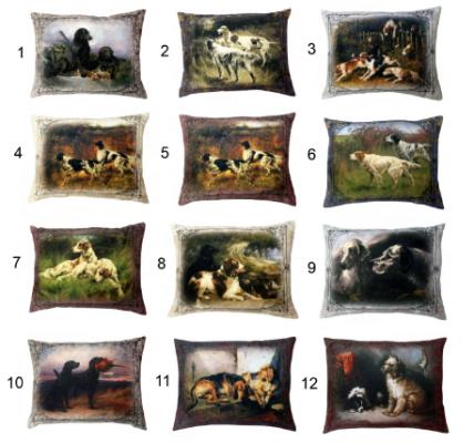Купить Подушка подушка СПИ Антистрессовая подушка Собаки текстиль синтепон 50 см, разноцветный, синтепон, текстиль, Подушки-игрушки