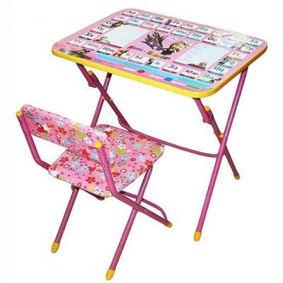 Купить Стол-стул НИКА Маша и Медведь, Размер стола: 59 х 45 х 57 см., Игровые комплекты мебели