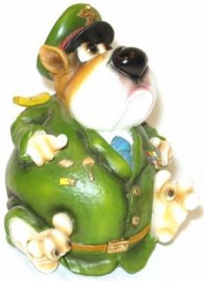 Купить Собака генерал, Наша Игрушка, Высота фигурки: 14 см, Новогодние сувениры