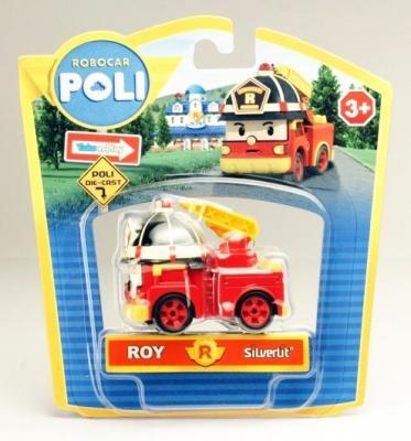 Спецтехника POLI Рой красный 83161 игрушка король войны silverlit 83161 poli