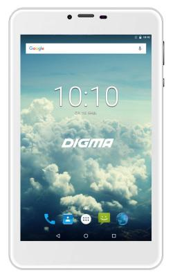 Планшет Digma Plane 7563N 4G 7 16Gb Silver Wi-Fi Bluetooth 3G Android PS7178ML zgpax s6 1 54 touch screen dual core android 4 0 3g smart phone watch w camera wi fi silver uk