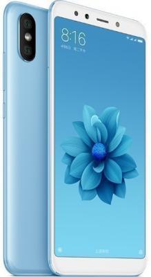 Смартфон Xiaomi Mi A2 64 Гб синий (MiA2GB64BLU) смартфон