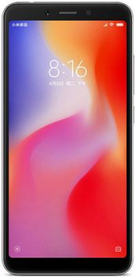 Смартфон Xiaomi Redmi 6 64 Гб черный (Redmi6BL64GB) смартфон xiaomi redmi 6 32 гб золотистый redmi6gld32gb