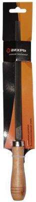 Вихрь [73/6/4/3] Напильник 200 мм трехгранный деревянная рукоятка напильник по металлу npi hcs трехгранный с двухкомпонентной ручкой 200 мм
