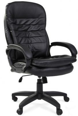 Офисное кресло Chairman 795 LT Россия PU черный [7014616] офисное кресло chairman 403 кожа pu черное