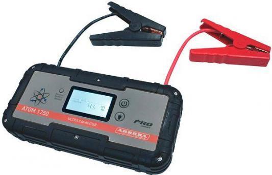 цена на Пусковое устройство AURORA ATOM 1750 ULTRA CAPACITOR конденсаторное. 6000 mAh.Пиковый ток 12В 700