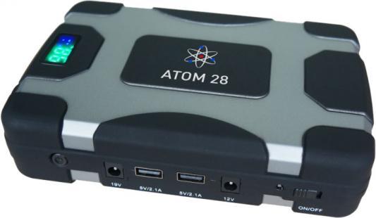 Устройство пуско-зарядное AURORA 18908 ATOM 28 12В 28000мАч 103.6Втч 850/1700А пуско зарядное устройство neoline jump starter 500a