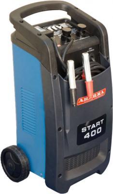 Устройство пуско-зарядное AURORA START 400 BLUE 1600Вт 40/700Ач 450А 15.4кг устройство пуско зарядное aurora 19091 atom 24 12в 24000мач 88 8втч 500 1000а