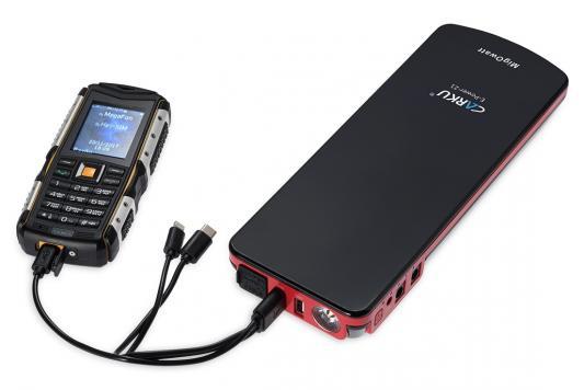 все цены на Устройство пусковое CARKU E-Power-21 18000mAh 66.6Вт/ч пусковой ток300А пиковый ток600A онлайн
