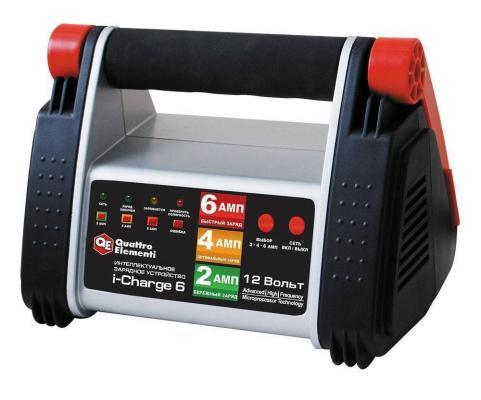 Зарядноеустройство QUATTROELEMENTI771-145i-Charge6 (12В,6/4/2А)полныйавтомат устройство quattro elementi tech boost 620 771 473