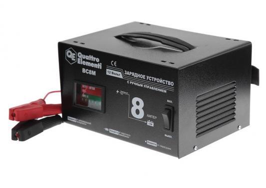 Зарядноеустройство QUATTROELEMENTI770-087BC8M (12В,8А) новый усилитель руля насос подходит 00 06 audi tt and tt quattro lifetime warranty