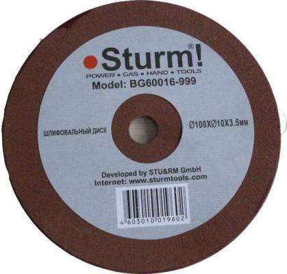 BG60016-999 Точильный камень Sturm 100х10х3.5, для BG/ТС-60016 электроточило энергомаш тс 60016