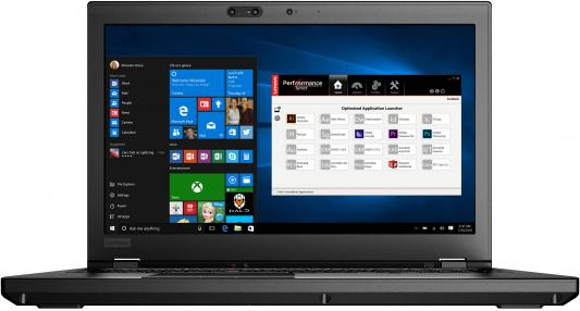 Ноутбук Lenovo ThinkPad P52 (20M9001FRT)