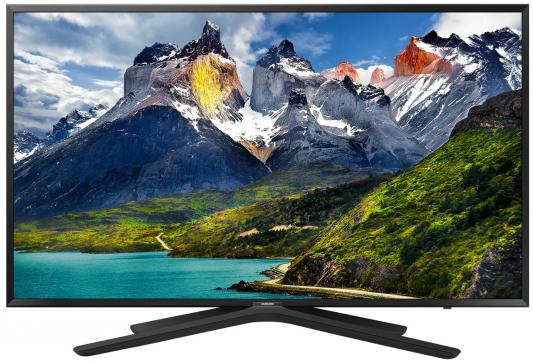 Телевизор LED Samsung 43 UE43N5500AUXRU черный/FULL HD/100Hz/DVB-T2/DVB-C/DVB-S2/USB/WiFi/Smart TV (RUS)