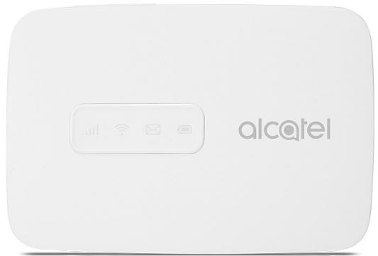 Модем 2G/3G/4G Alcatel Link Zone USB Wi-Fi Firewall +Router внешний белый модем zte mf79 usb wi fi router черный