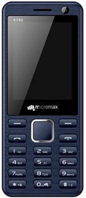 Мобильный телефон Micromax X740 синий мобильный телефон micromax x2420 черно золотистый