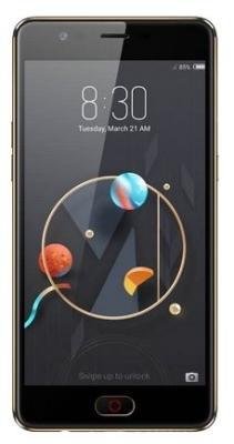Смартфон ZTE Nubia M2 Lite 64 Гб черный zte mf79 черный