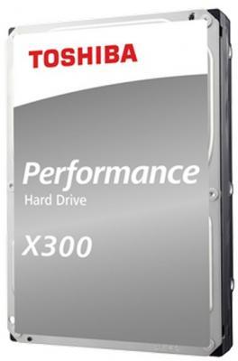 """Жесткий диск Toshiba SATA-III 10Tb HDWR11AUZSVA X300 (7200rpm) 256Mb 3.5"""" цена и фото"""