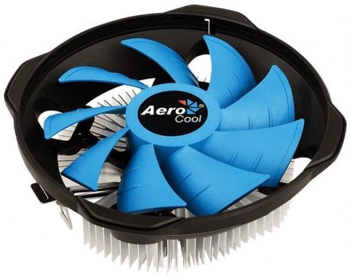 Устройство охлаждения(кулер) Aerocool BAS U-3P Soc-FM2+/AM2+/AM3+/AM4/1150/1151/1155/ 3-pin 26dB Al 110W 361gr Ret устройство охлаждения кулер aerocool verkho 2 plus soc fm2 am2 am3 am4 1150 1151 1155 4 pin 18 27db al cu 115w 444gr ret
