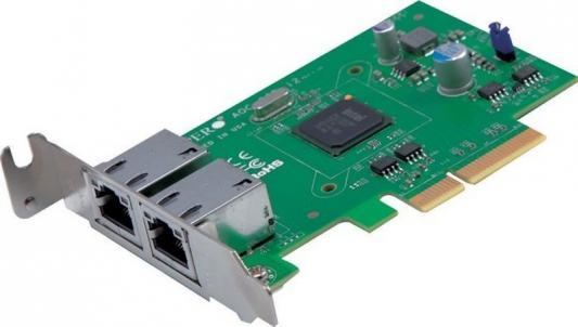 Адаптер SuperMicro AOC-CGP-I2 сетевой адаптер supermicro aoc sgp i2