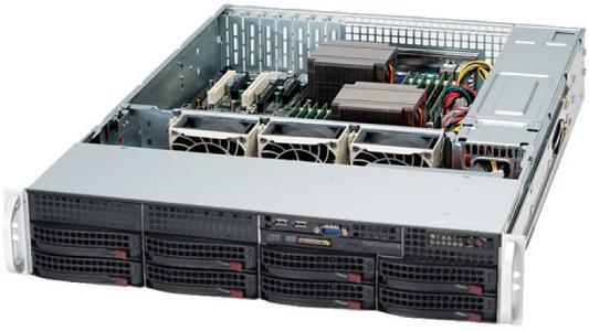 Корпус SuperMicro CSE-825TQC-600LPB 600W черный цена