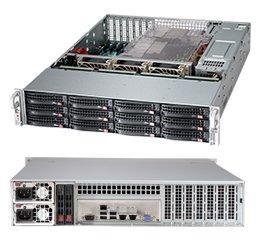 Корпус SuperMicro CSE-826BE1C4-R1K23LPB 2x1200W черный корпус supermicro cse 836ba r920b черный