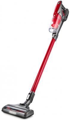 534-2-KT Вертикальный пылесос Kitfort красный. Мощность: 110 Вт.Время зарядки: 5 часов.