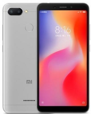 Смартфон Xiaomi Redmi 6 32 Гб серый (Redmi6GR32GB)