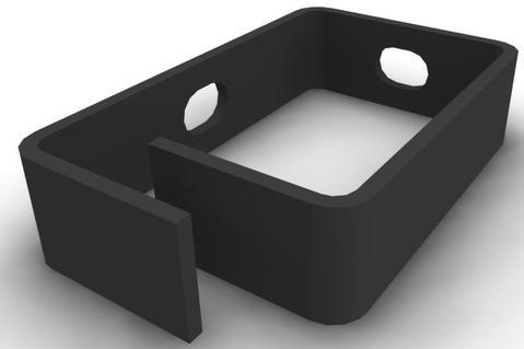 Кабельный органайзер - скоба, 83х39х15 , чёрный (уп. 10шт), NT CO 83/39/15 B кабельный органайзер 19 чёрный горизонтальный 1u nt co h b