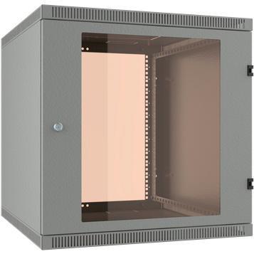 Шкаф 19 настенный 15U 600x650, дверь стекло-металл, серый, NT WALLBOX LIGHT 15-66 G шкаф tlk настенный 19 15u дверь стекло 530х732х600мм цельносварной серый