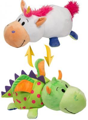 Мягкая игрушка Вывернушка 40 см 2в1 Единорог-Дракон цена в Москве и Питере