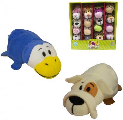 Мягкая игрушка Вывернушка 12 см 2в1 Бульдог-Пингвин мягкая игрушка девчушка вывернушка ксюшка 2в1 23 38 см