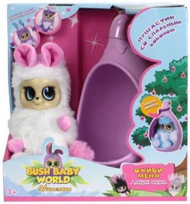 Купить Интерактивная мягкая игрушка Bush Baby Соня искусственный мех пластик текстиль розовый белый 17 см Т13947, белый, розовый, искусственный мех, пластик, текстиль, Интерактивные мягкие игрушки