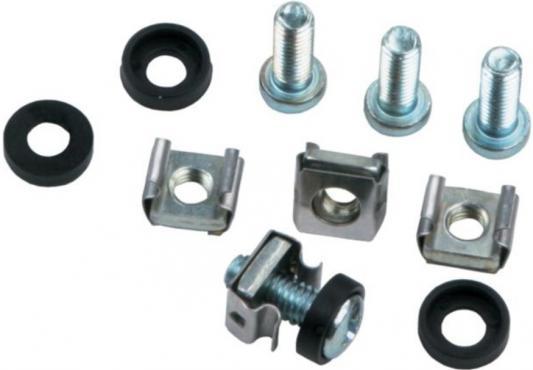 Набор крепления оборудования, винт, гайка клетевая, шайба, 100 шт, NT SH-M6-100 lamtop 100