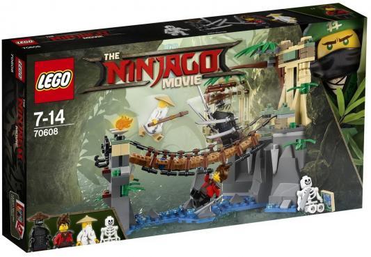 Конструктор LEGO Битва Гармадона и Мастера Ву 312 элементов конструктор lego танос последняя битва 76107