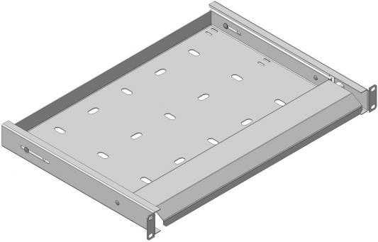 Панель освещения с направляющими серая, Light Panel telescopic + shelf, NT LP ts G